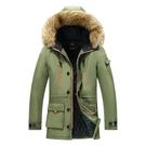 潮流棉服冬季上衣 棉衣夾克外套加絨 中長款流男生外套 男士外套工裝 大碼韓版外套羽絨外套