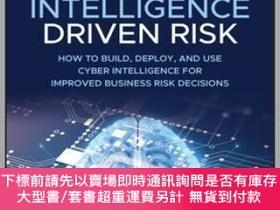 二手書博民逛書店預訂Cyber罕見Intelligence-Driven Risk - How To Build And Use