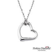 925純銀項鍊PERKINS 伯金仕  Flora系列Heart項墜
