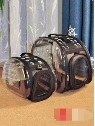 貓包透明包寵物背包貓咪外出便攜包貓籠狗狗書包寵物包手提太空包 喵小姐