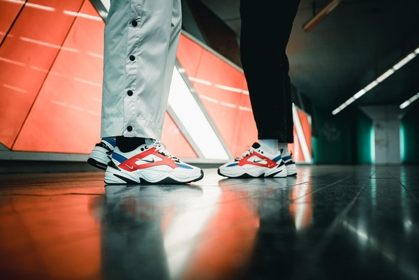 "IMPACT Nike M2K Tekno ""Team Orange"" 橘 藍 白 尼克隊 老爹鞋 AO3108-101"