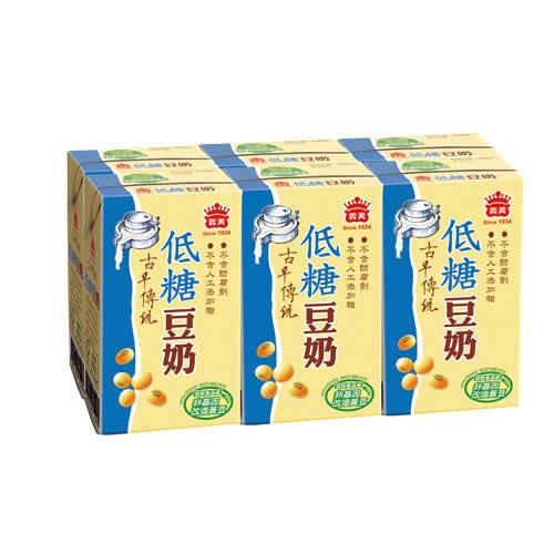 義美低糖豆奶250ml*24【愛買】