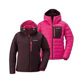 [Mont-Bell] (女) Colorado 650FP 雙面羽絨外套 栗色/深粉紅 (1101479MRDP)