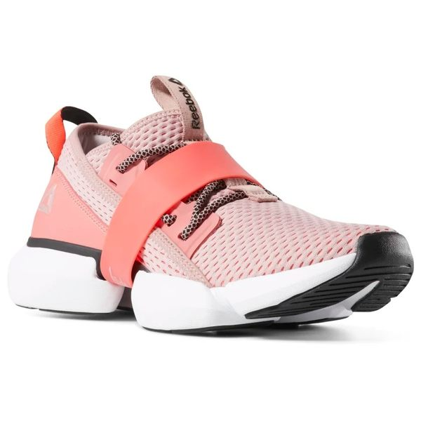 REEBOK SPLIT FLEX 女鞋 慢跑 訓練 襪套 支撐 緩衝 透氣 粉 橘【運動世界】DV3960