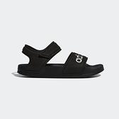 ADIDAS ADILETTE SANDAL K [G26879] 童鞋 涼鞋 拖鞋 雨鞋 水鞋 海灘 游泳 戲水 黑白
