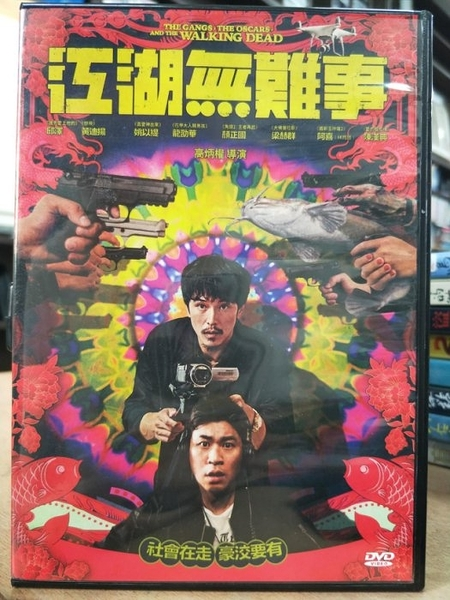 挖寶二手片-P01-230-正版DVD-華語【江湖無難事】邱澤 黃迪揚 姚以緹(直購價)