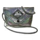 ☆小時候創意屋☆ 泰國曼谷設計師 鑽石銀 GAGA包 夜店晚宴包 手機包 化妝包