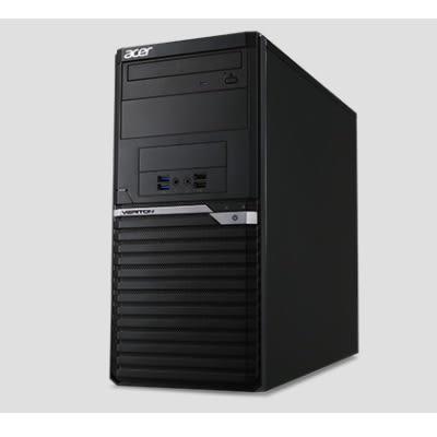宏碁 Acer Veriton M6660G 高效商用主機【Intel Core i7-8700 / 8GB記憶體 / 1TB硬碟 / Win 10 Pro 】(Q370)