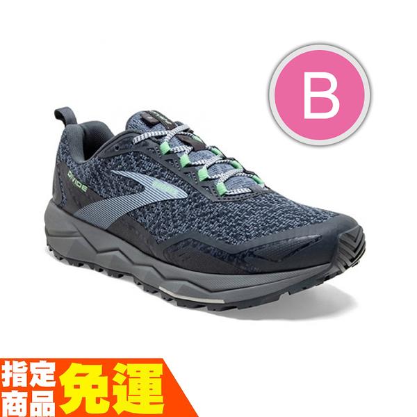 BROOKS 避震緩衝 女慢跑鞋 越野 DIVIDE 分水嶺系列 灰藍 B 1203211B069 贈1襪 20SS