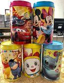 【出清特賣】迪士尼可樂罐收納盒-米奇米妮(全新,無包裝)