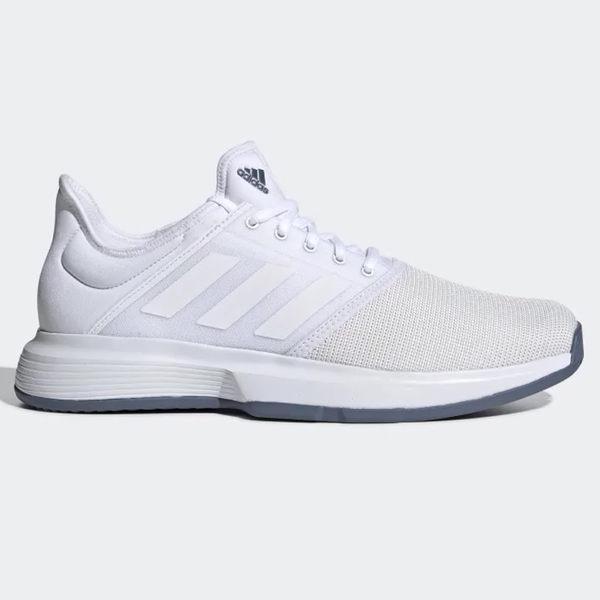 ADIDAS GAMECOURT 男鞋 網球 襪套 避震 透氣 白【運動世界】 EE3815 | 其他專業球鞋 |