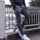 肌肉兄弟運動褲子型男跑步健身訓練褲收口小腳褲打底長褲休閒衛褲 免運直出 交換禮物