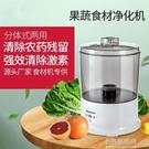 果蔬消毒機解毒機臭氧洗菜家用解毒活氧臭氧食材凈化器  【全館免運】