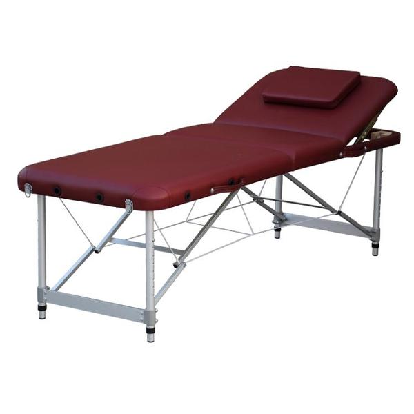 美知然可摺疊紋繡美容床推拿按摩床火療床家用便攜式手提 時尚芭莎