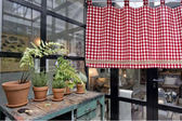 可愛時尚棉麻門簾48 廚房半簾 咖啡簾 窗幔簾 穿杆簾 風水簾 (客製訂單2)