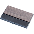 金屬卡夾 實木名片夾便攜式簡約隨身名片盒商務女士個性名片夾男式 傑森型男館