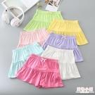 女童褲裙莫代爾夏季薄款童裝寶寶沙灘褲熱女孩裙褲薄兒童短褲外穿 中秋降價