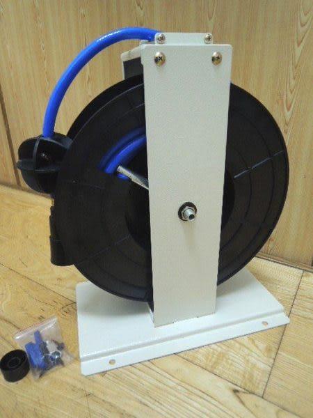 [ 家事達 ] 台灣HS-HR-850B  開放式自動收線器8*12mm(15米 )  特價 高壓管捲揚器 風管輪座組