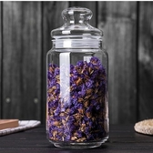 小號玻璃茶葉罐茶葉盒透明茶罐便攜防潮密封罐玻璃瓶儲物罐收納罐