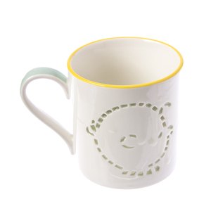 HOLA 史努比 Snoopy系列造型鏤空馬克杯-查理布朗