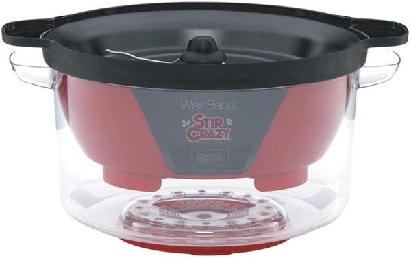 【含保固110V台灣公司貨】WestBend 82505 Stir Crazy熱油爆米花機(Amazon四顆半星高評價