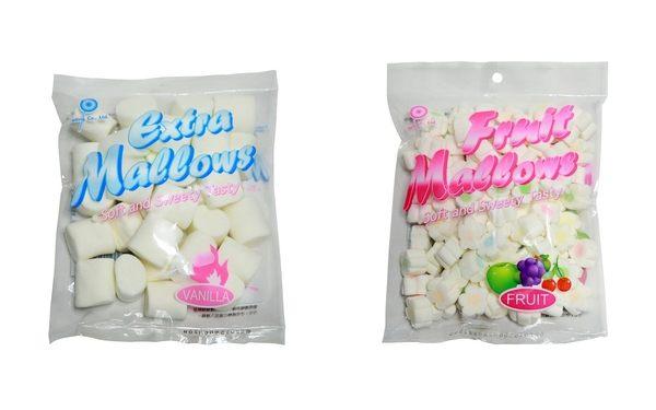 【麻吉熊】台灣巧益 棉花糖--水果/香草150g