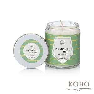 【KOBO】 美國大豆精油蠟燭-冰沁微晨-170g/可燃燒35hr