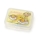 【震撼精品百貨】蛋黃哥Gudetama~Sanrio 蛋黃哥散裝貼紙組附收納盒(40枚入)#87535