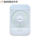 【SANSUI 山水】5吋充電式靜音風扇-附超亮LED燈 (SHF-L45)
