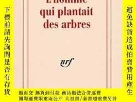 二手書博民逛書店L homme罕見Qui Plantait Des ArbresY255562 Jean Giono Edit