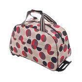 大容量拉桿包手提旅行包行李袋拉桿箱 nm1813 【Pink中大尺碼】