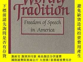 二手書博民逛書店A罕見Worthy TraditionY364682 Harry Kalven Harper & Ro