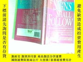 二手書博民逛書店AND罕見SIGNS SHALL FOLLOW..16開Y206