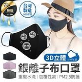 現貨!銀離子三層口罩 防飛沫 防塵 奈米口罩 防pm2.5口罩 防水口罩 防護口罩 三層口罩 #捕夢網
