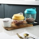 半房廚房多功能碎菜器小型家用手動絞肉機攪餡器蒜泥器手搖切菜器 遇見生活
