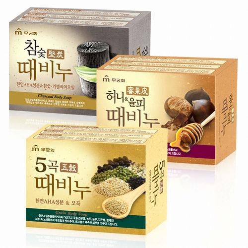 【花想容】韓國大創 搓仙神器搓仙皂 蜜栗皮皂 五穀 堅炭