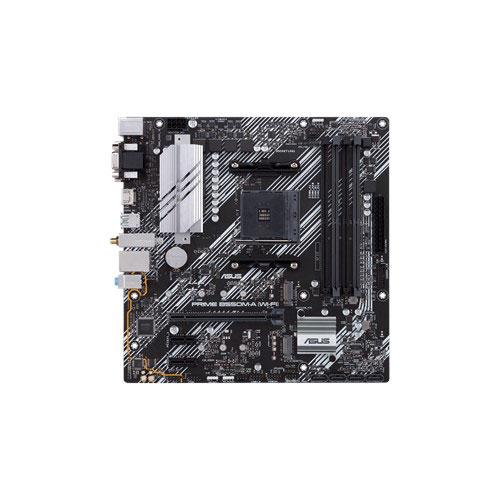 ASUS 華碩 PRIME B550M-A (WI-FI) 支援PCI-E 4.0 AM4腳位 (m-ATX)主機板