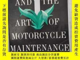 二手書博民逛書店ZEN罕見AND THE ART OF MOTORCYCLE MAINTENANCEY25624 見首頁 見首