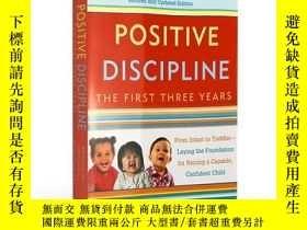 二手書博民逛書店正面管教1-3歲幼兒童罕見英文原版 Positive Disci