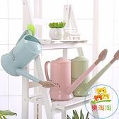 長嘴澆花壺噴水壺塑膠園藝工具綠植盆栽澆花器花灑壺樂淘淘