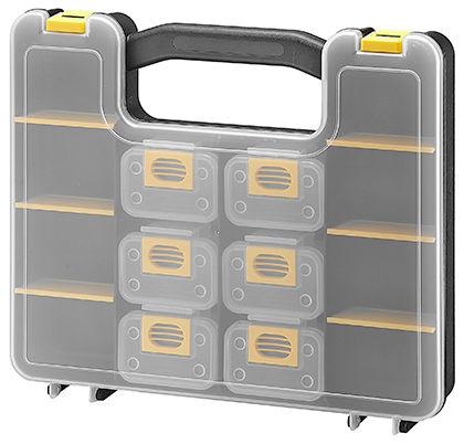 [家事達] 臺灣KTL-KT-3538D 專業級 零件收納盒  - 特價 工具箱 零件盒