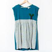 【Dailo】背釦式自然風洋裝