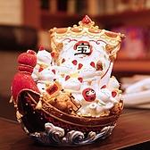 【金石工坊】七福招財貓寶船(高25CM)日本料理店 風水開運擺飾 一帆風順 開店送禮 開業禮品