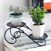 鐵藝花架子多層室內特價省空間陽臺裝飾客廳花盆架多肉飄窗置物架