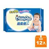 滿意寶寶 純水 超柔感 濕毛巾 厚型 80張x12包/箱【康鄰超市】