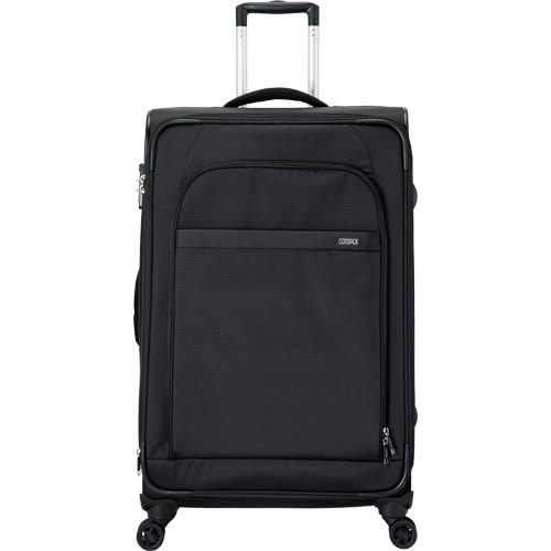 COSSACK LEADING領航系列3 布箱可加大 行李箱/旅行箱29吋-黑色-
