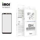 【愛瘋潮】iMos NOKIA 9 滿版玻璃保護貼 美商康寧公司授權 螢幕保護貼