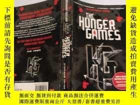 二手書博民逛書店the罕見hunger games 饑餓遊戲..,Y200392