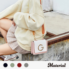 斜背包 時尚撞色小方包 MA女鞋 M6181