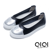 娃娃鞋 俏皮貓咪超透氣真皮娃娃鞋(黑)*0101shoes  【18-729bk】【現貨】